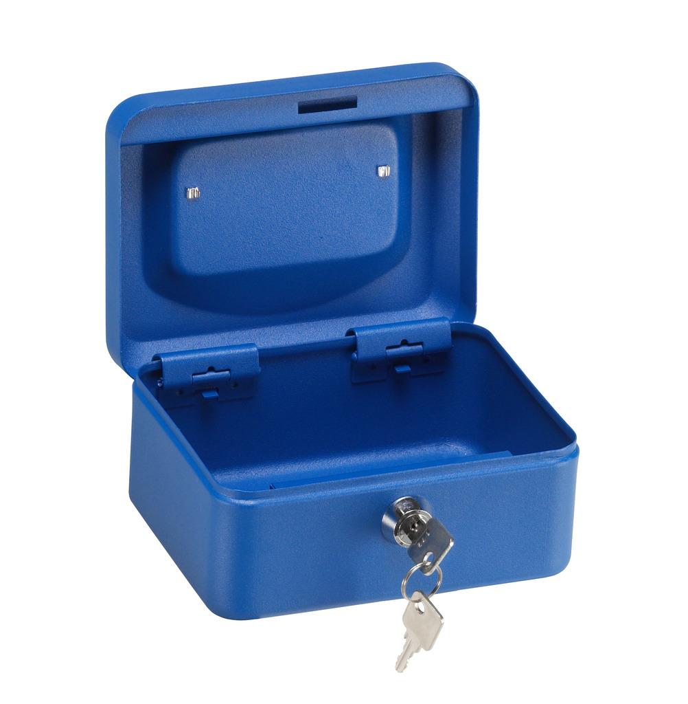 Arregui caja caudales elegant azul mate cerradura serreta for Caja de caudales